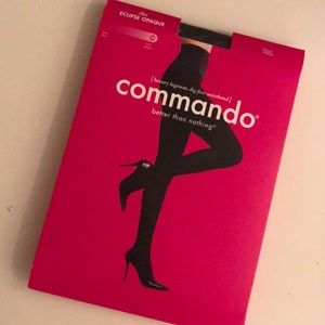 NEW Commando Black Opaque Tights
